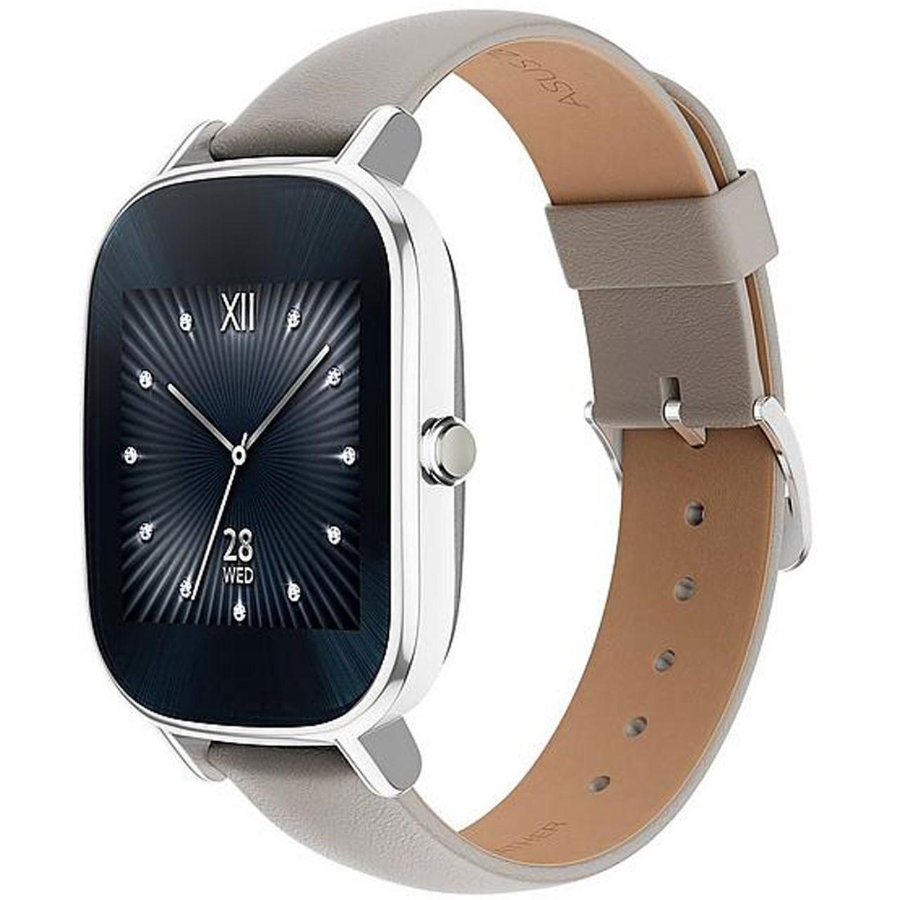 ساعت هوشمند ایسوس مدل زن واچ 2 WI502Q با بند لاستیکی