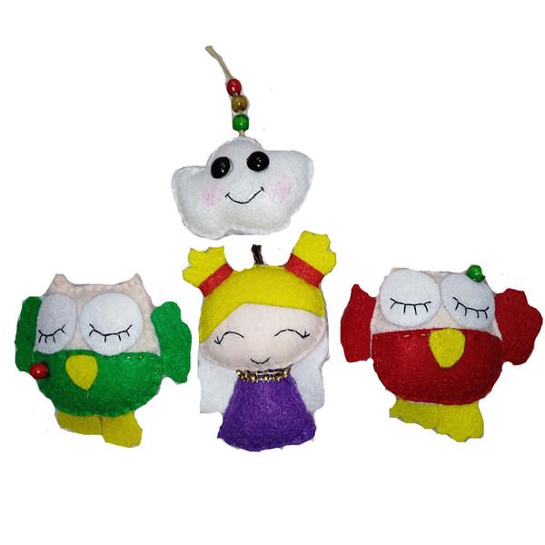 عروسکهای سورنا مدل مجموعه 4 عددی