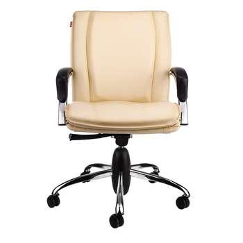 صندلی اداری نیلپر مدل SM809e چرمی