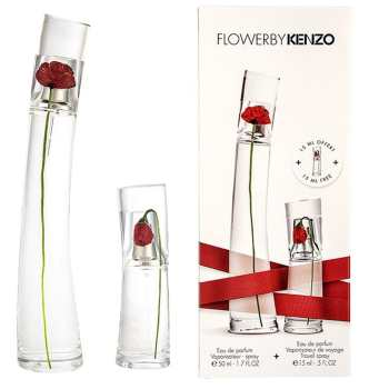 ست ادو پرفیوم زنانه کنزو مدل Flower by Kenzo حجم 50 میلی لیتر
