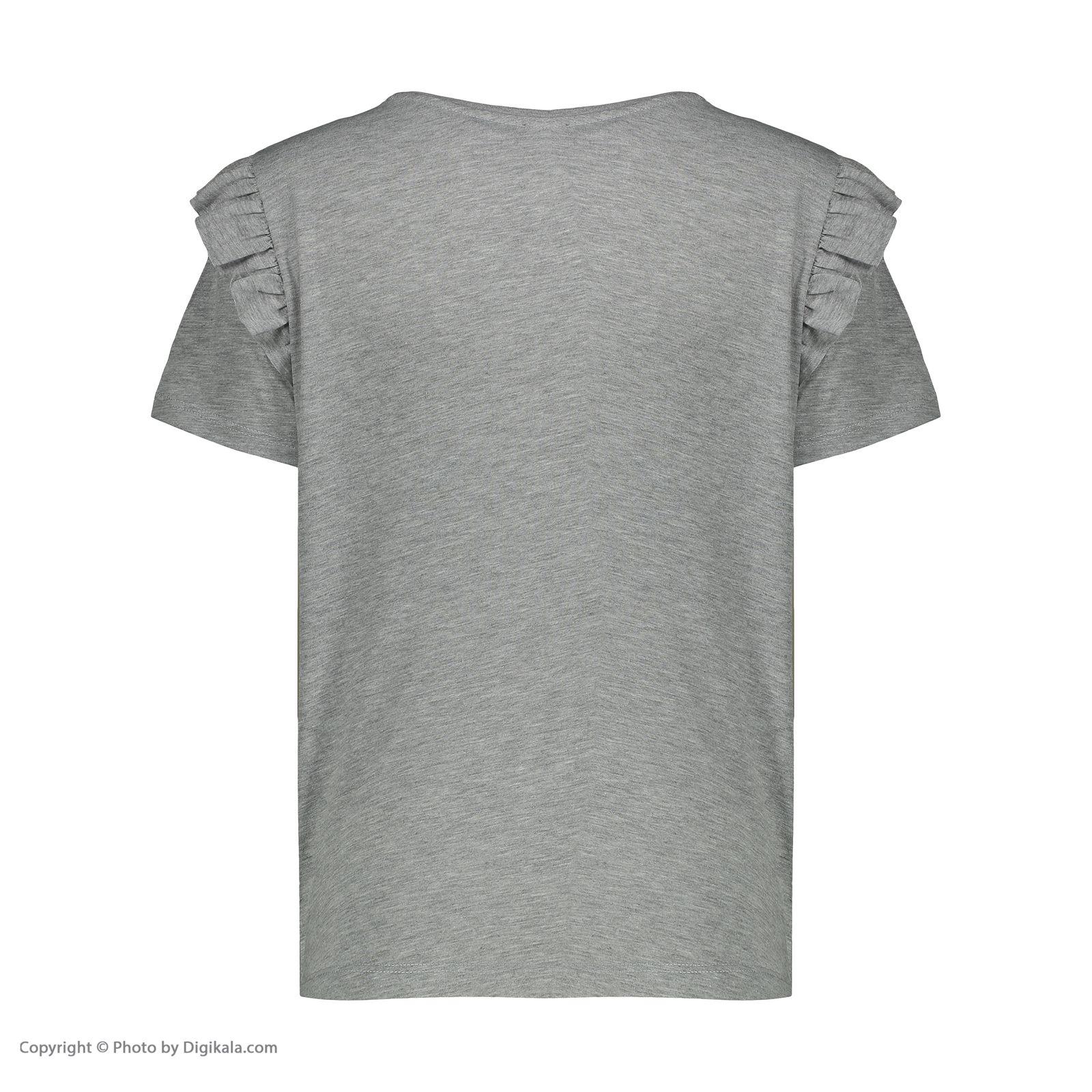 تی شرت زنانه کالینز مدل CL1031960-GREYMELANGE main 1 3