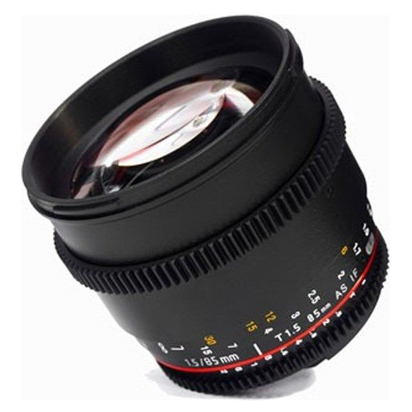 لنز سامیانگ 85mm T1.5 AS IF UMC VDSLR Nikon