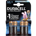 باتری قلمی دوراسل مدل Ultra Power بسته 4 عددی