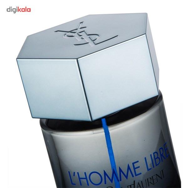 ادو تویلت مردانه ایو سن لوران مدل L'Homme Libre حجم 100 میلی لیتر