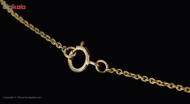 گردنبند طلا 18 عیار ماهک مدل MM0451