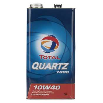 روغن موتور خودرو توتال مدل Quartz 7000 حجم 5 لیتر