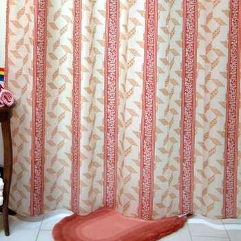 پرده حمام فرش مریم مدل Sina - سایز 200 × 180 سانتی متر