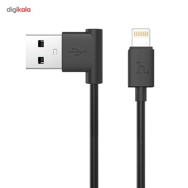 کابل تبدیل USB به لایتنینگ هوکو مدل UPL11 L Shape طول 1.2 متر main 1 1