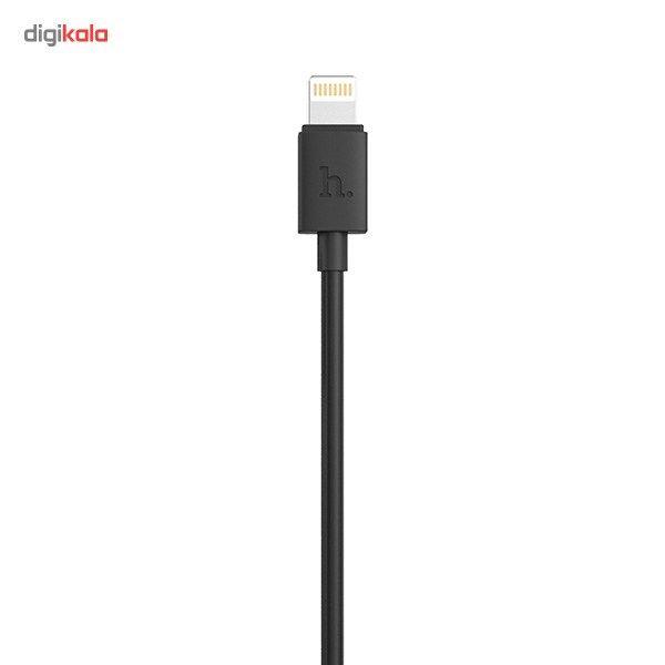 کابل تبدیل USB به لایتنینگ هوکو مدل UPL11 L Shape طول 1.2 متر main 1 2