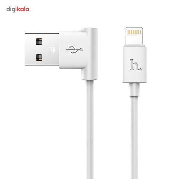 کابل تبدیل USB به لایتنینگ هوکو مدل UPL11 L Shape طول 1.2 متر main 1 3