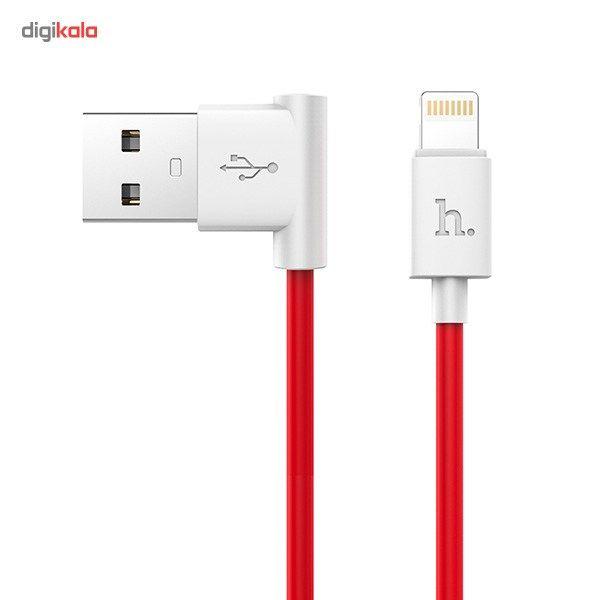 کابل تبدیل USB به لایتنینگ هوکو مدل UPL11 L Shape طول 1.2 متر main 1 5