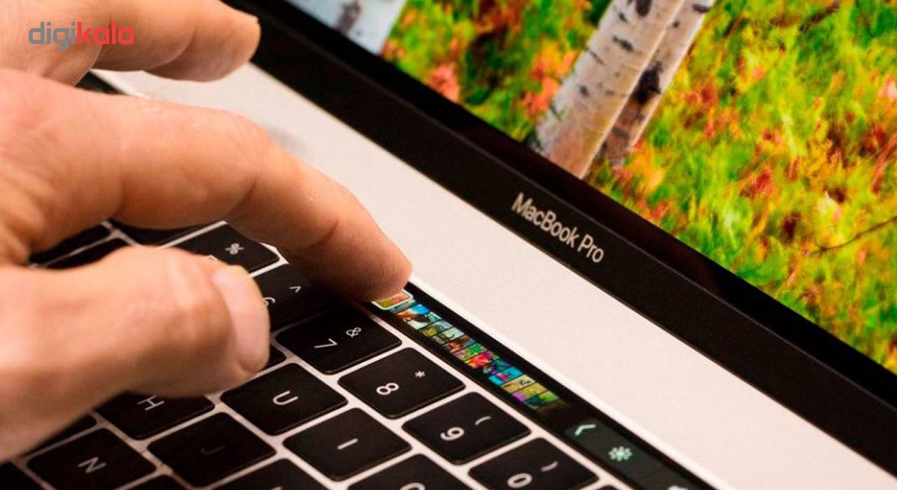 لپ تاپ 13 اینچی اپل مدل MacBook Pro MPXX2 2017 همراه با تاچ بار