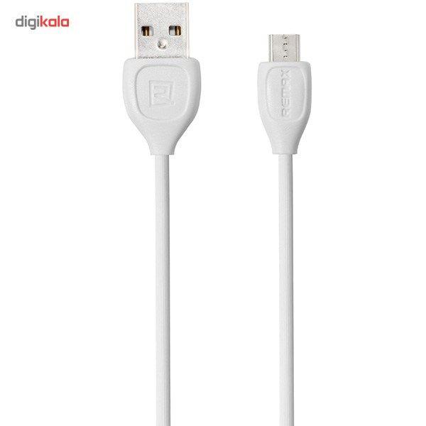 کابل تبدیل USB به microUSB ریمکس مدل LESU RC-05m طول 1 متر main 1 1