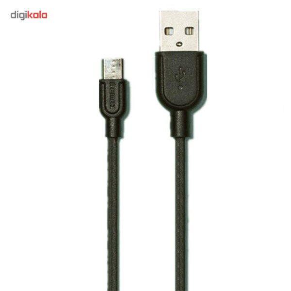 کابل تبدیل USB به microUSB ریمکس مدل LESU RC-05m طول 1 متر main 1 2