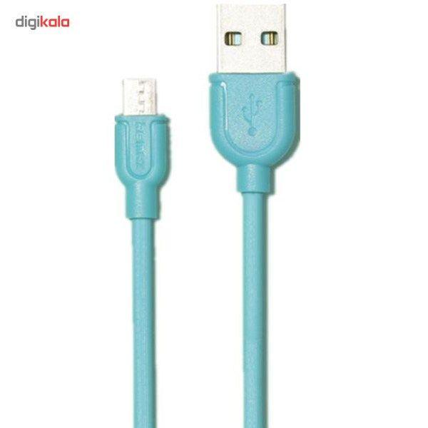کابل تبدیل USB به microUSB ریمکس مدل LESU RC-05m طول 1 متر main 1 3