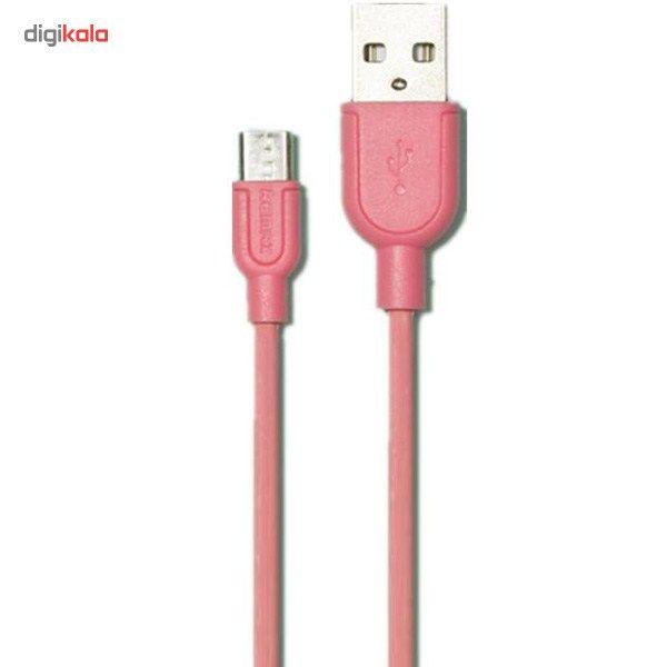 کابل تبدیل USB به microUSB ریمکس مدل LESU RC-05m طول 1 متر main 1 4
