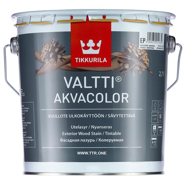 رنگ پایه آب تیکوریلا مدل 5073 VALTTI AKVACOLOR حجم 3 لیتر