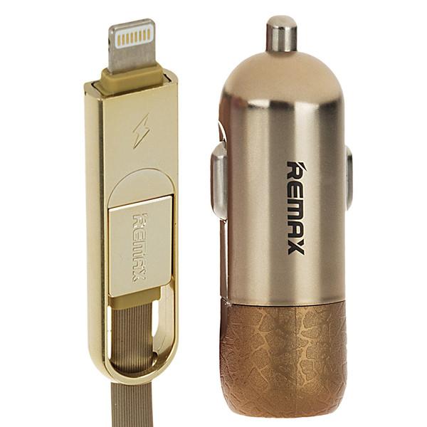 شارژر فندکی ریمکس مدل Finchy RC-C103 به همراه کابل شارژ