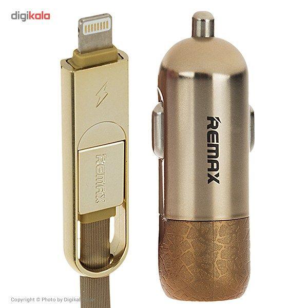 شارژر فندکی ریمکس مدل Finchy RC-C103 به همراه کابل شارژ main 1 6
