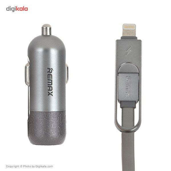 شارژر فندکی ریمکس مدل Finchy RC-C103 به همراه کابل شارژ main 1 10