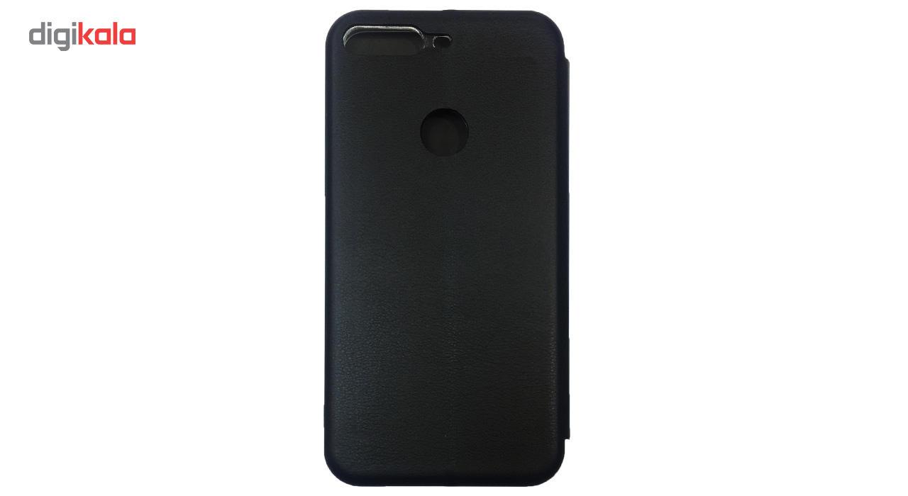 کیف کلاسوری مدل Leather  مناسب برای گوشی موبایل هواوی Y7 Prime 2018 main 1 3
