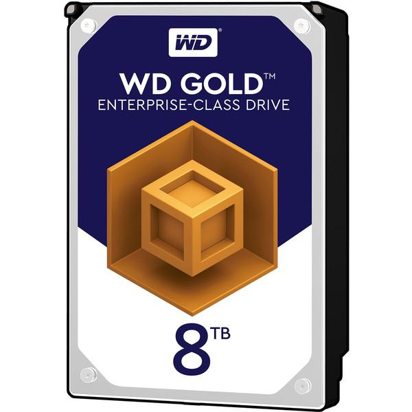 هارددیسک اینترنال وسترن دیجیتال مدل Gold WD8002FRYZ ظرفیت 8 ترابایت