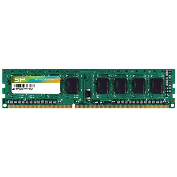 رم دسکتاپ DDR3L تک کاناله 1600 مگاهرتز سیلیکون پاور ظرفیت 4 گیگابایت مدل CL11