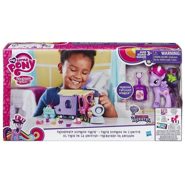 قطار اسباب بازی هاسبرو مدل Princess Twilight Sparkle