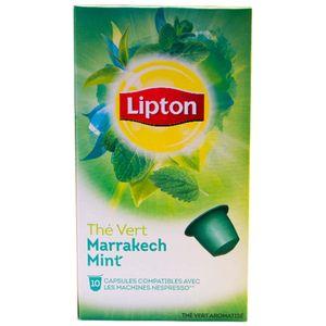 کپسول چای لیپتون مدل Marrakech Mint