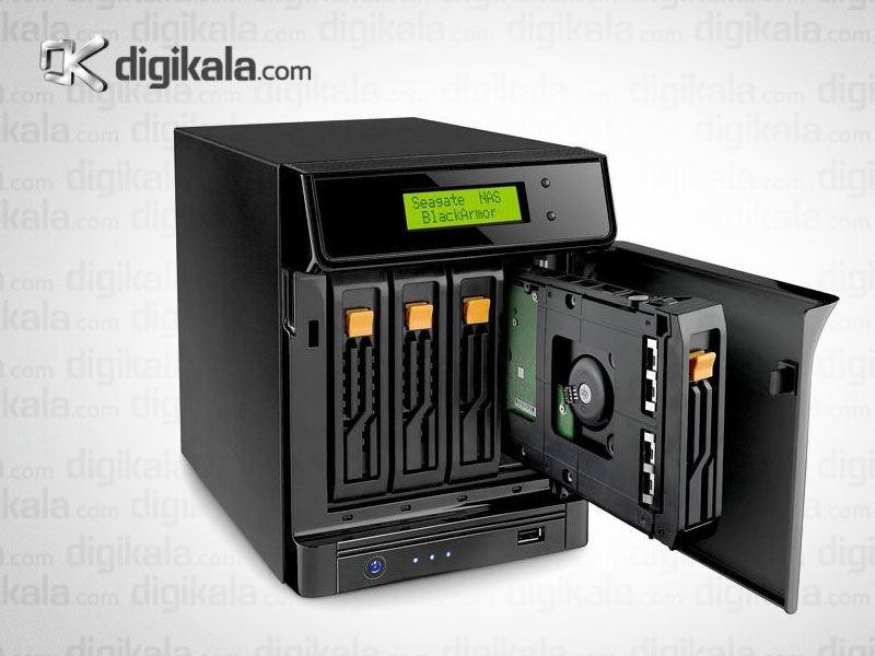 ذخیره ساز تحت شبکه سیگیت مدل بلک آرمور 440 ظرفیت 12 ترابایت