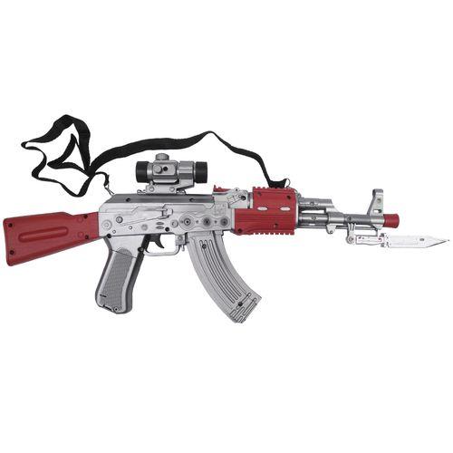 تفنگ بازی کلاشینکف مدل ویبره ای