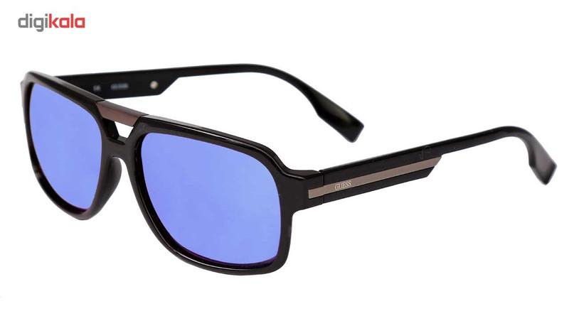 عینک آفتابی گس مدل Aviator-6804-BLK-9F
