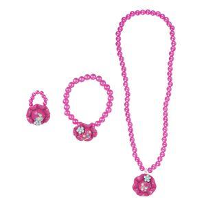 ست گردنبند و دستبند و انگشتر بچگانه مدل مارنا گالری  کیتی