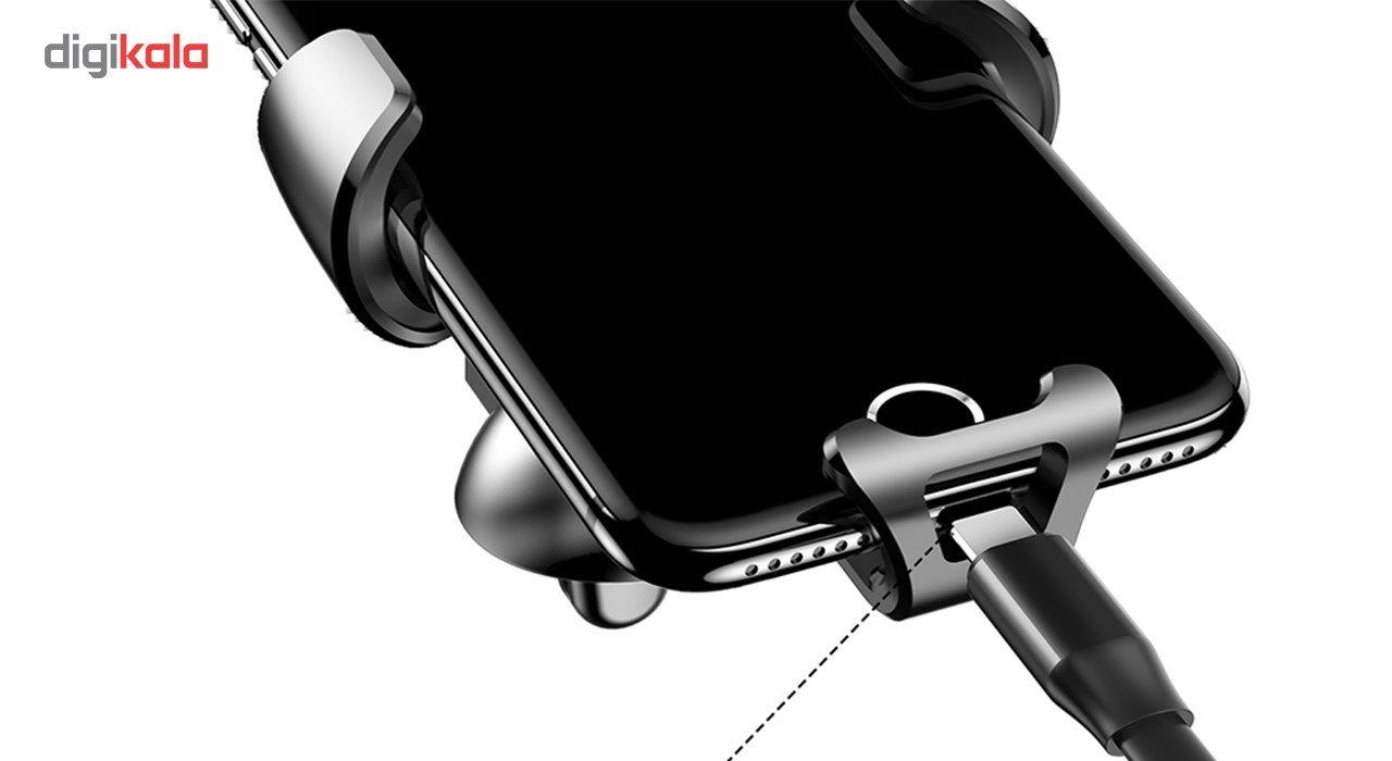 پایه نگهدارنده گوشی موبایل باسئوس مدل Gravity main 1 2