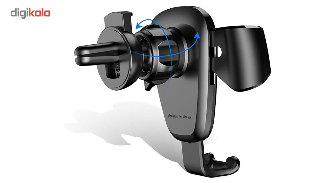 پایه نگهدارنده گوشی موبایل باسئوس مدل Gravity main 1 4