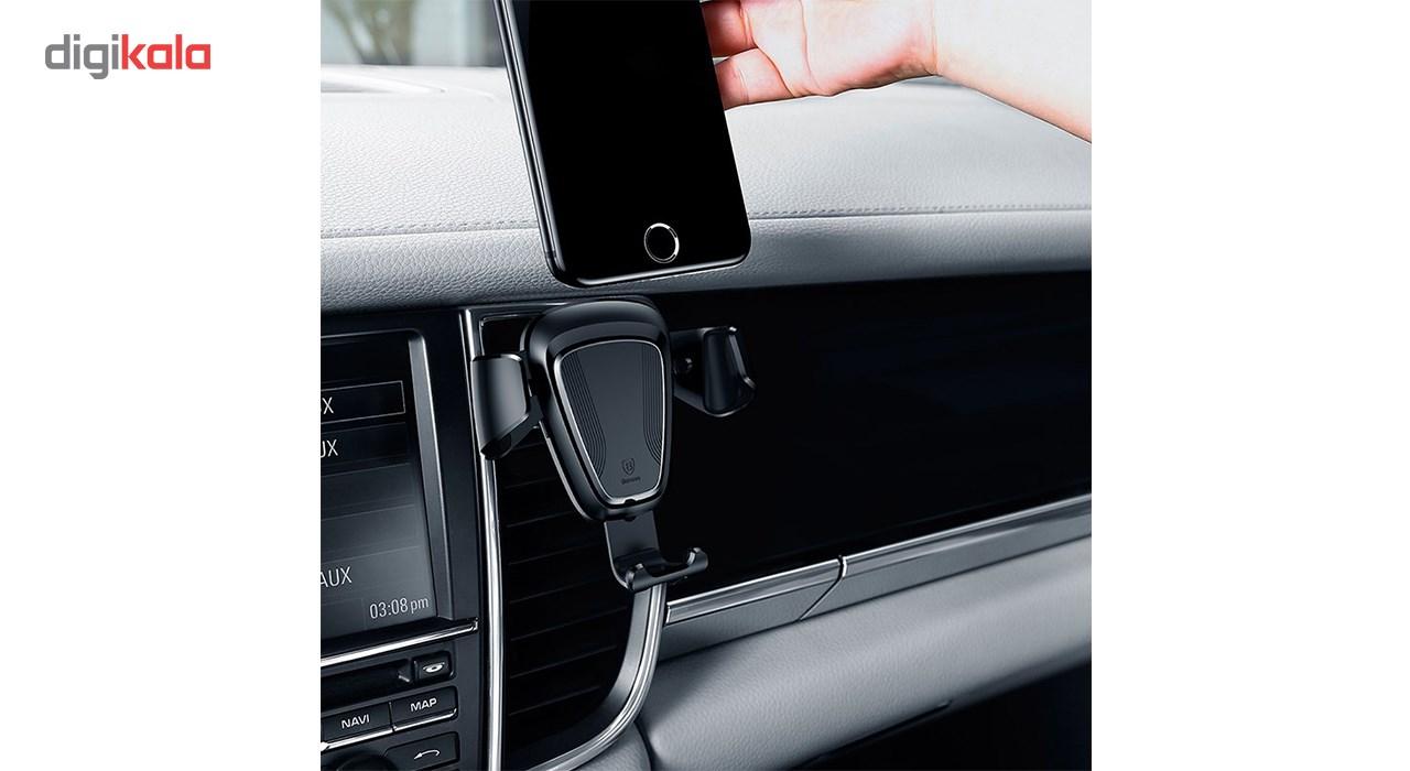 پایه نگهدارنده گوشی موبایل باسئوس مدل Gravity main 1 5