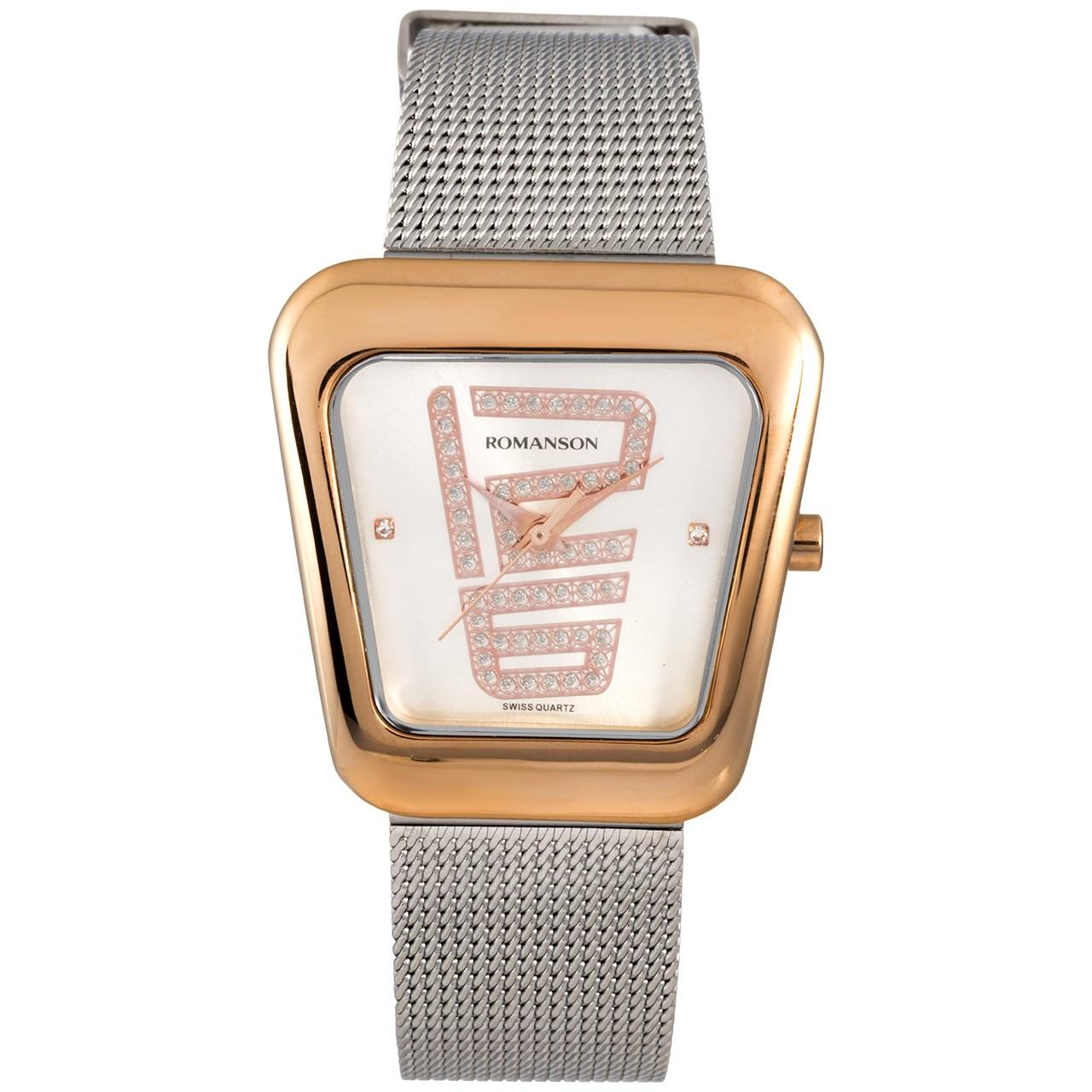 ساعت مچی عقربه ای زنانه رومانسون مدل RM0365LL1JAS6R