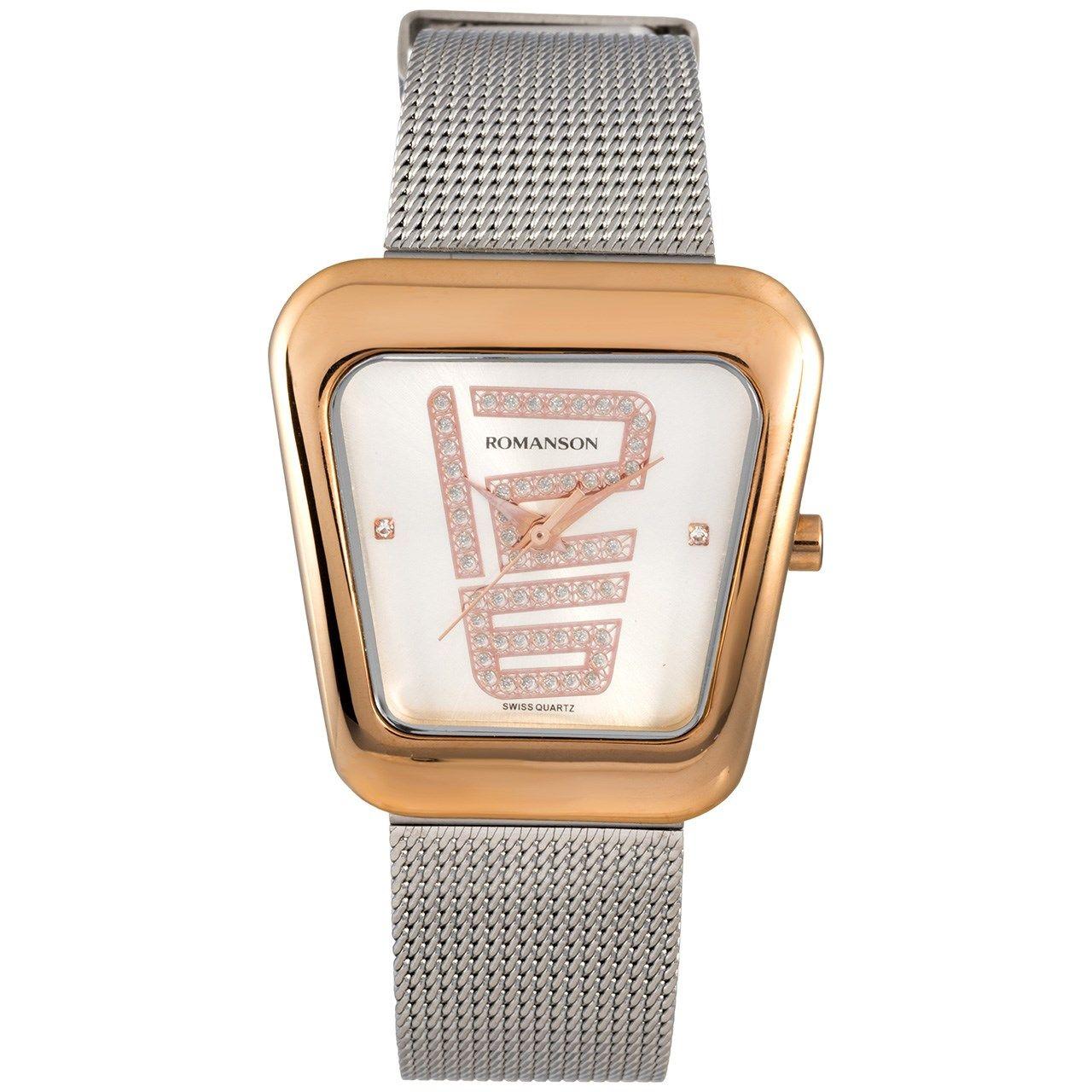 ساعت مچی عقربه ای زنانه رومانسون مدل RM0365LL1JAS6R -  - 1