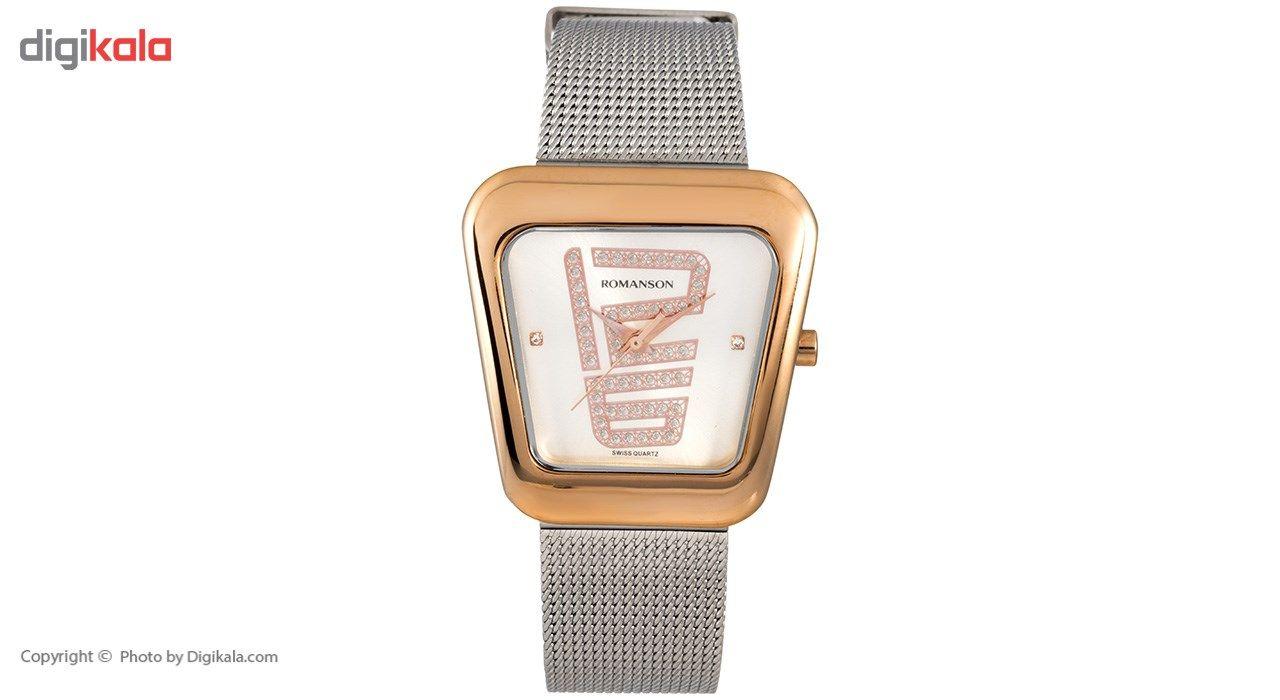 ساعت مچی عقربه ای زنانه رومانسون مدل RM0365LL1JAS6R -  - 2