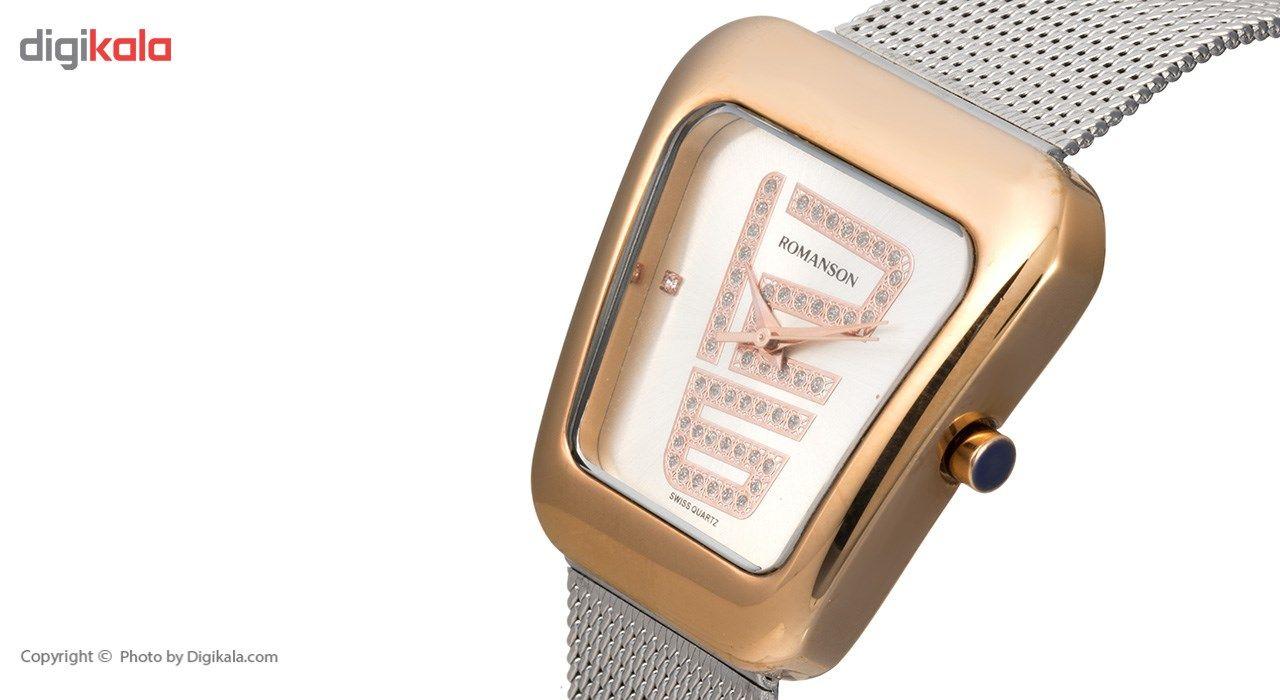 ساعت مچی عقربه ای زنانه رومانسون مدل RM0365LL1JAS6R -  - 4