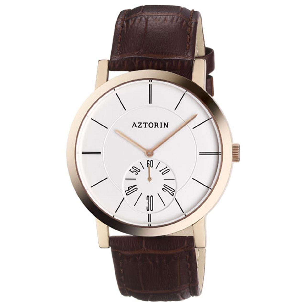 ساعت مچی عقربه ای مردانه ازتورین مدل A041.G166