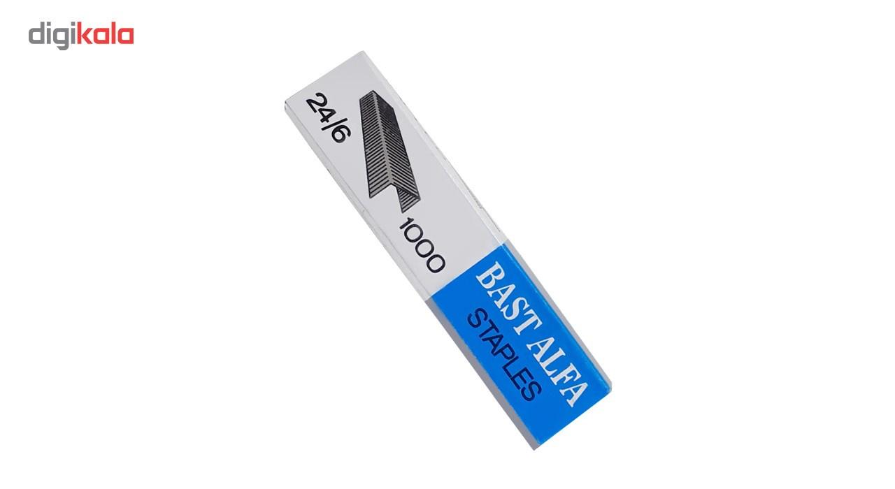 سوزن منگنه آلفا سایز 24/6 - 10 بسته 1000 عددی