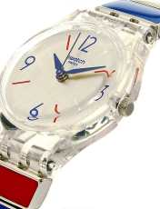 ساعت مچی عقربه ای زنانه سواچ مدل LK364G -  - 2