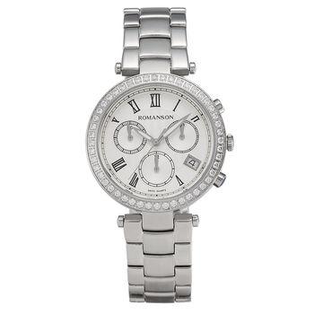 ساعت مچی عقربه ای زنانه رومانسون مدل RM6A02HLWWASR5