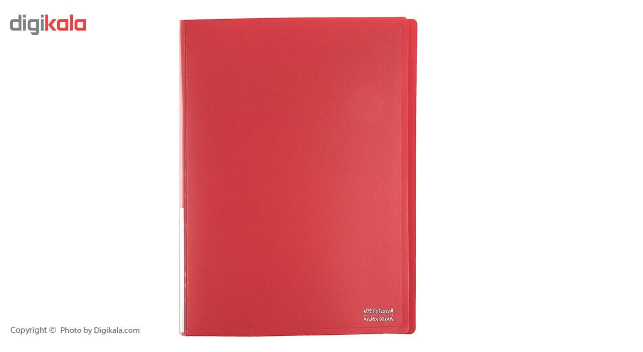کلیر بوک سهند 40 برگ مدل رنگین کمان کد 0274AF main 1 9