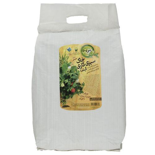 خاک سبزی کاری گیلدا بسته 10 لیتری