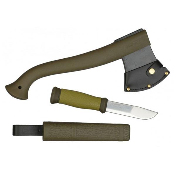مجموعه تبر و چاقوی موراکنیو مدل Outdoor