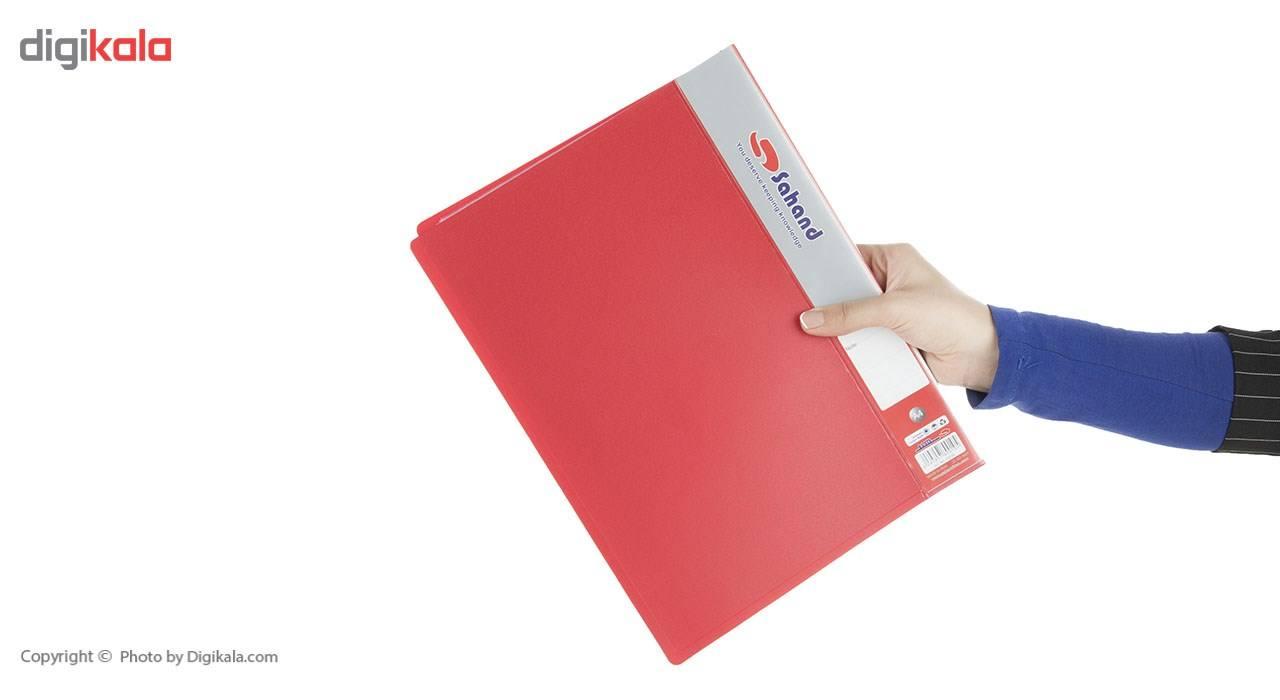 کلیر بوک سهند 40 برگ مدل رنگین کمان کد 0274AF main 1 10