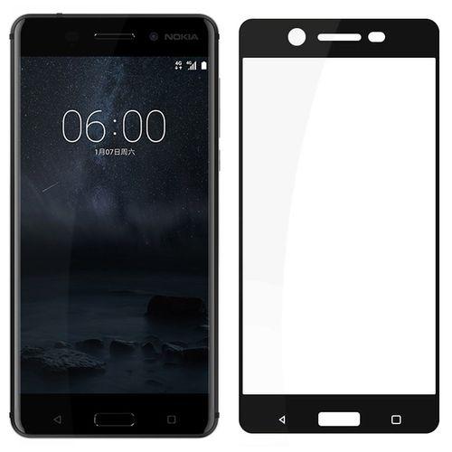 محافظ صفحه نمایش شیشه ای تمپرد مدل Full Cover مناسب برای گوشی موبایل  نوکیا 5