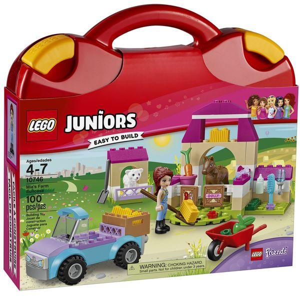 لگو سری Juniors مدل Mias Farm Suitcase 10746